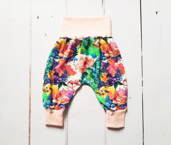 flower harem pants main