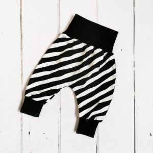 mono stripes harem pants main