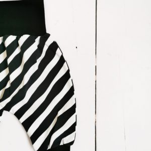mono stripes harem pants 1
