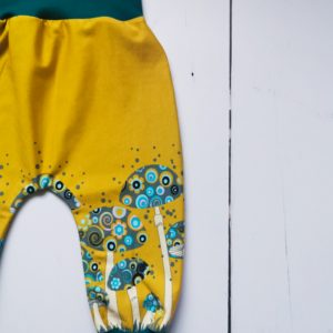 mustard mushrooms harem pants 1