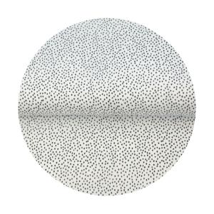 mono dots fabric