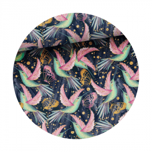 hummingbird fabric