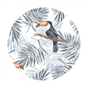 toucan fabric