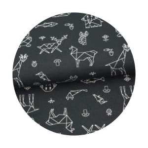 geo animals fabric