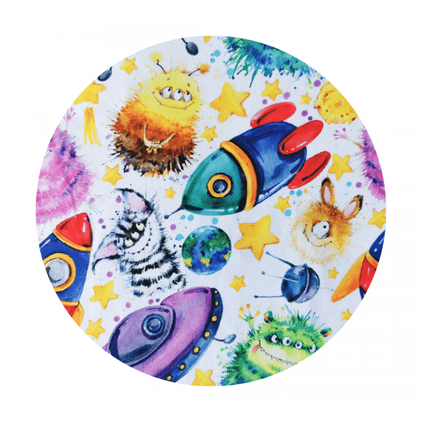space monster fabric